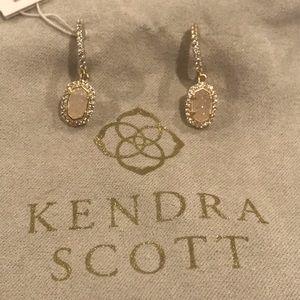 NWT Kendra Scott Cale Hoop Earrings